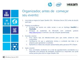 Windows Server 2012 – Além da Nuvem