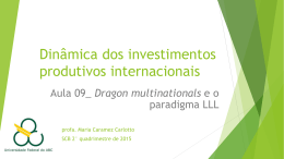 DIPI_AULA 9_Dragon multinationals