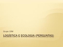 Logística e ecologia