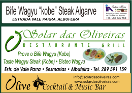 bife wagyu kobe steak algarve