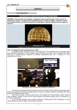 2013 - Turma IME-ITA - Quimica - Pires - Etapas de Fukushima