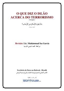 biblioteca o que diz o islam acerca do terrorismo