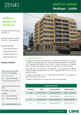 Apresentacao Edificio-Anfiris PT 2013