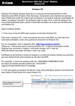 DNS-320L AMAZON S3