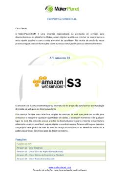 Proposta Comercial  - Amazon S3