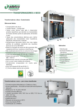 Catalogo Adelco Transformadores