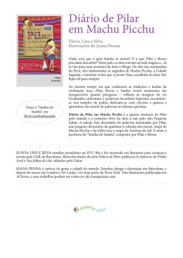 Diario de Pilar em Machu Picchu