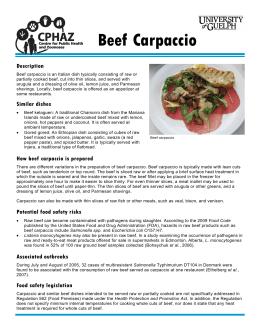 FactSheet-BeefCarpaccio 001