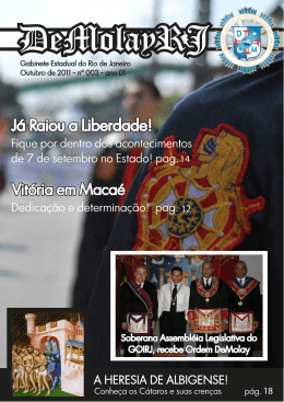 Revista DeMolay RJ 003