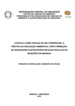 UNIVERSIDADE FEDERAL DO AMAZONAS - PPG