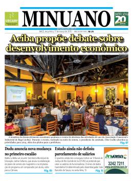 aciba propõe debate sobre desenvolvimento