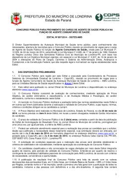 Edital nº 097/2014 - Cops