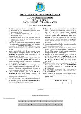 agente de saúde edital nº 01/2015 data: 22/11/2015