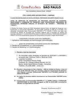 Catálogo de Requisitos de Titulação