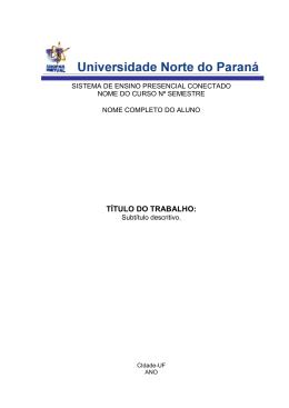ABNT - UNOPAR - Resumido - Monografias & Trabalhos
