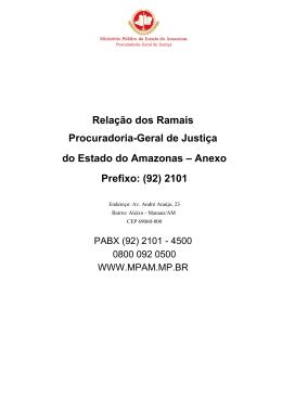 Lista_Ramais_Aleixo_jun15 - Ministério Público do Estado do