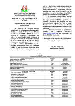 Arquivo - Prefeitura de Macapá