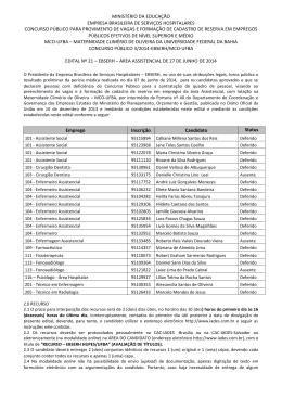 MINISTÉRIO DA EDUCAÇÃO EMPRESA BRASILEIRA DE