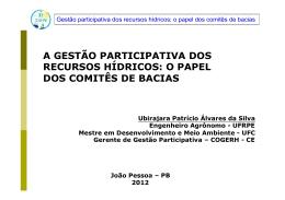 da apresentação - Associação Brasileira de Recursos