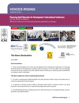 Déclaration de Bonn