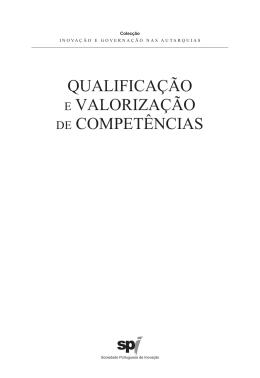 qualificação e valorização de competências