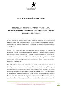 projeto de resolução nº 1431/xii/4.ª recuperação urgente da mata do