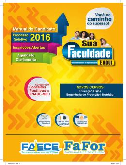 caminho - Faculdade de Ensino e Cultura do Ceará