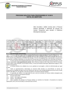 Edital de Abertura - oppusconcursospublicos.com.br