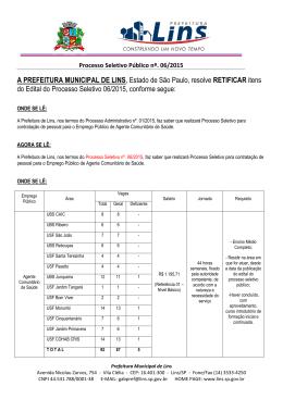 Errata Edital II 02/10/2015