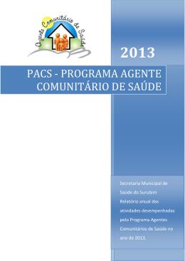 programa agente comunitário de saúde