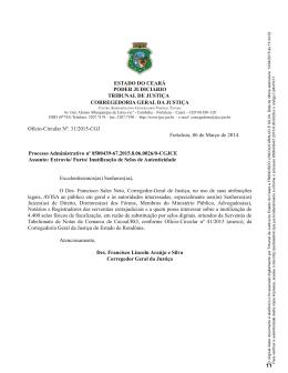 Ofício-Circular nº 31/2015