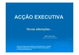 Ac Executiva 2009 - solicitador rui helder feio