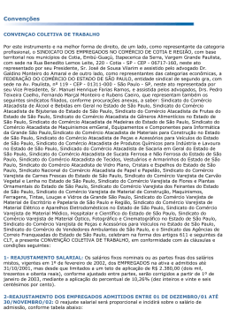 Convenção Coletiva 2002-2003
