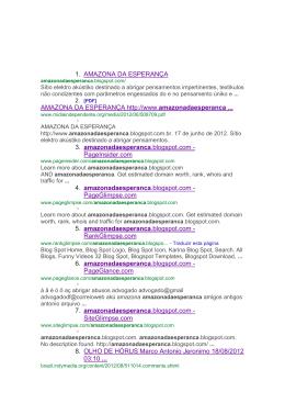 Resultados da pesquisa - Centro de Mídia Independente