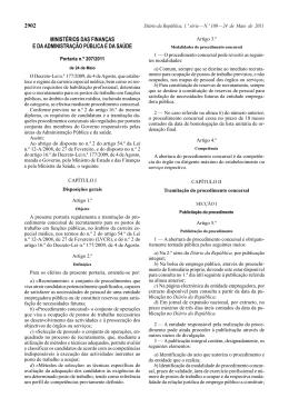 Portaria nº 207/2011