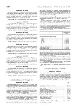 Diário da República, 2.ª série — N.º 100 — 26 de Maio de 2008