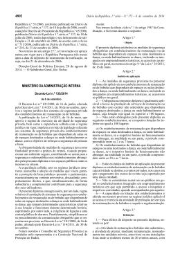 Decreto-Lei n.º 135/2014