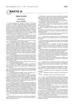 Aviso n.º 6410/2014 - Tribunal de Contas