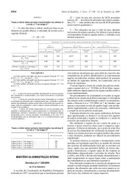 Decreto-Lei n.º 239/2009