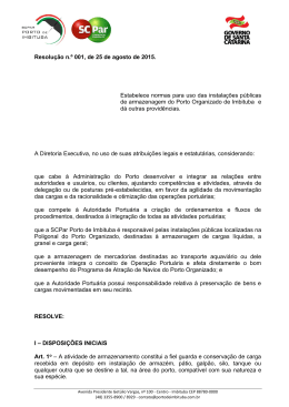 Oficio PRE nº 001/2012