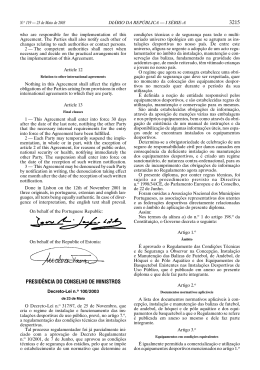 (DL 100/2003, de 23.05) Ver documento