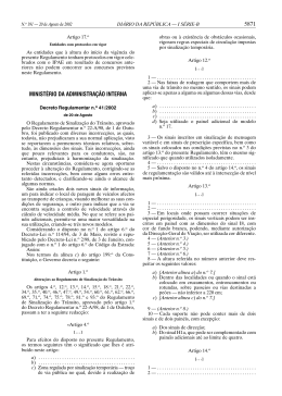 5871 MINISTÉRIO DA ADMINISTRAÇÃO INTERNA