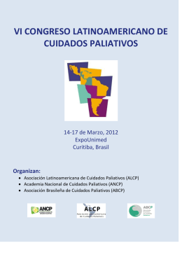 vi congreso latinoamericano de cuidados paliativos