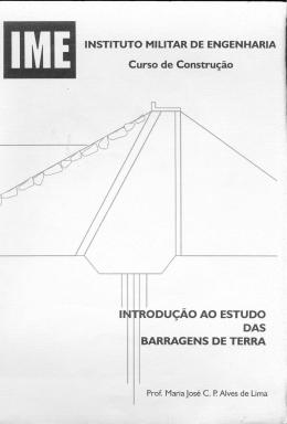 Maria José - Introdução ao estudo das barragens de terra parte 1