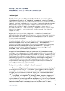 Modulação AM- FM - pg :: professor e engenheiro paulo gomes
