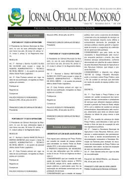 Prefeito - Prefeitura Municipal de Mossoró
