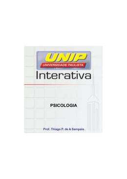 PSICOLOGIA - Ambiente Virtual de Aprendizado