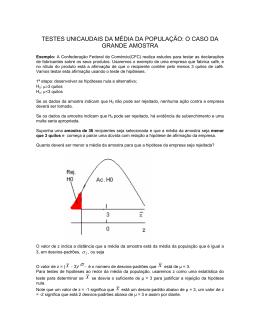 Métodos Quantitativos I – 2ª aula