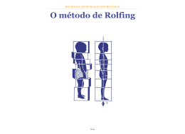 O método de Rolfing