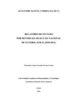 Relatório de Es ub21 - Alexandre Silva